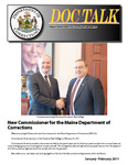 DOCTalk, January/February 2011 by Maine Department of Corrections