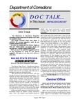 DocTalk, August 1999 by Maine Department of Corrections