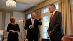 First Lady Ann LePage, Governor Paul LePage and Secretary Ryan Zinke by U.S. Department of Interior
