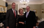 Secretary Ryan Zinke, First Lady Ann LePage and Governor Paul LePage