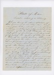1846 Resolve Relating to Slavery by Maine House of Representatives