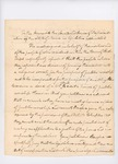 1828 Petition by Ephraim Small to incorporate the Abyssinian Religious Society by Ephraim Small