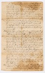 Last Will & Testament of Tilley Haggens of Berwick, York County, 1777