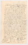 1844-01-08  Petition of Joshua Small Regarding Slavery in Washington, D.C.