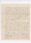 1841 [Draft] Report of the Judiciary Committee Upon the Controversy Between Georgia and Maine [Senate Doc 27, 21st Legislature] by Maine Legislature and Charles S. Daveis