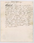1859 Joint Select Committee Report Relating to Slavery