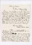 1861 Order of the Maine Legislature Requesting Maine Supreme Court Judicial Opinions Regarding Fugitive Slaves