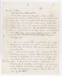 1861 Supreme Court Opinion of Justices Appleton and Kent Regarding Fugitive Slaves