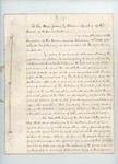 1861 Supreme Court Opinion of Justices May and Goodenow Regarding Fugitive Slaves