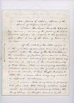 1861 Supreme Court Opinion of Justice Woodbury Regarding Fugitive Slaves