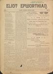 Eliot Epworthian Vol. 1 No. 4, March 1893 by Rev. G. I. Lowe, Miss. E. M. Bartlett, and Miss. Annie Raitt
