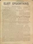 Eliot Epworthian Vol. 2 No. 4, March 1894 by Miss. Annie Raitt, Miss. E. M. Bartlett, Edward Bartlett, and Rev. E. A. Porter