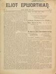 Eliot Epworthian Vol. 2 No. 5, May 1894 by Miss. Annie Raitt, Miss. E. M. Bartlett, Rev. E. A. Porter, and Edward Bartlett
