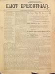 Eliot Epworthian Vol. 2 No. 6, July 1894 by Miss. Annie Raitt, Miss. E. M. Bartlett, Edward Bartlett, and Rev. E. A. Porter