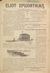 Eliot Epworthian Vol. 3 No. 1, October 1894 by Miss. Annie Raitt, Miss. E. M. Bartlett, Edward Bartlett, and Alfred Bartlett