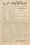 Eliot Epworthian Vol. 3 No. 2, December 1894 by Miss. Annie Raitt, Miss. E. M. Bartlett, Edward Bartlett, and Alfred Bartlett