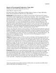 Report of Wassataquoik Exploratory Trips, 2016 by Bart DeWolf Ph.D.