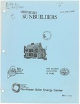 Sunbuilders by Northeast Solar Energy Center, Maine Office of Energy Resources, and Home Builders Association of Maine