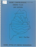 Maine Comprehensive Energy Plan 1976 Edition : Vol. I - The Plan by Maine Office of Energy Resources