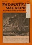 Farmstead Magazine : Fall 1976 by Adam Fisher