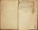 Church Records : First Regular Baptist Church of Fayette (Starling Plantation) 1835-1836 by First Regular Baptist Church of Fayette
