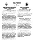 Forest Consultant's Newsletter : July 1998 by Maine Forest Service