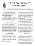 Forest Consultant's Newsletter : August 2001