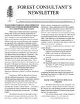 Forest Consultant's Newsletter : December 2001