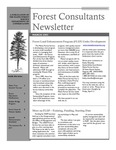 Forest Consultant's Newsletter : March 2003 by Maine Forest Service