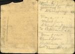 Henry L. Foss's Address Book, ca. 1919 by Henry Leroy Foss