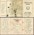 Circus Day Guide, First Division, Montabaur, Germany, July 11-12, 1919 by Headquaters of First Division