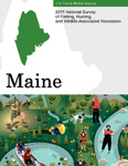 2011 National Survey of Fishing, Hunting, and Wildlife-Associated Recreation : Maine by U.S. Fish and Wildlife Service