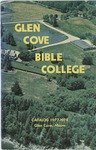 Glen Cove Bible College Catalog 1977-1979