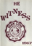 1967 Witness Yearbook for Glen Cove Bible College by Glen Cove Bible College