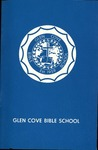 Glen Cove Bible School Catalog, 1968