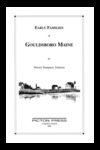 Early Families of Gouldsboro, Maine by Muriel Sampson Johnson