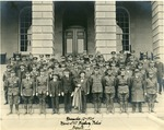 Maine State Highway Police with Governor Baxter, November 12, 1924