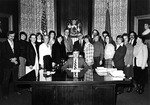 Governor Joseph E. Brennan and Staff from his Administration by Office of Governor Joseph Brennan