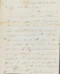 Dickinson Nov 16 1820 Recommendation by John Dickinson