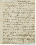 Letter to William King from A Porter Feb 7 1813 by Aaron Porter