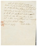 Letter to William King from Hilton Sept 9 by Elisha Hilton