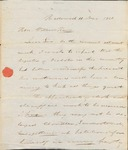 Warren Nov 11 1820 Recommendation