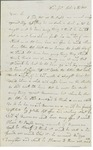 Letter to William King from Carleton Oct 3 1811 by Moses Carleton