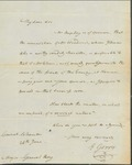 Letter to William King from Gerry June 26 1811 by Gerry