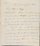 Warren Nov 8 1820 Recommendation