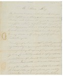 Letter to William King from Glidden Aug 28 1812