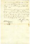 Gilman Sept 1820 Recommendation