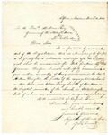 Gilman March 14 1821 Recommendation