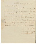Letter to William King from Carleton Feb 29 1812 by Carleton