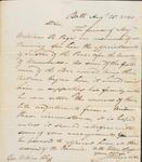 Wingate Aug 25 1820 Recommendation